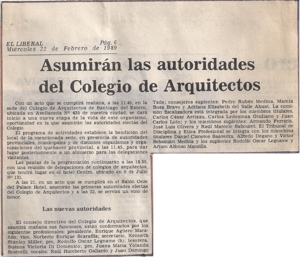 22-02-89-Asuncion de Autoridades